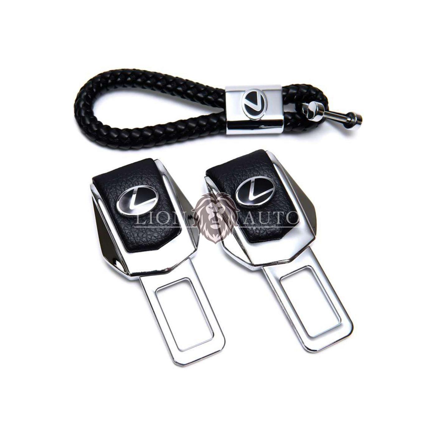 Заглушки ремня безопасности на Lexus (набор)