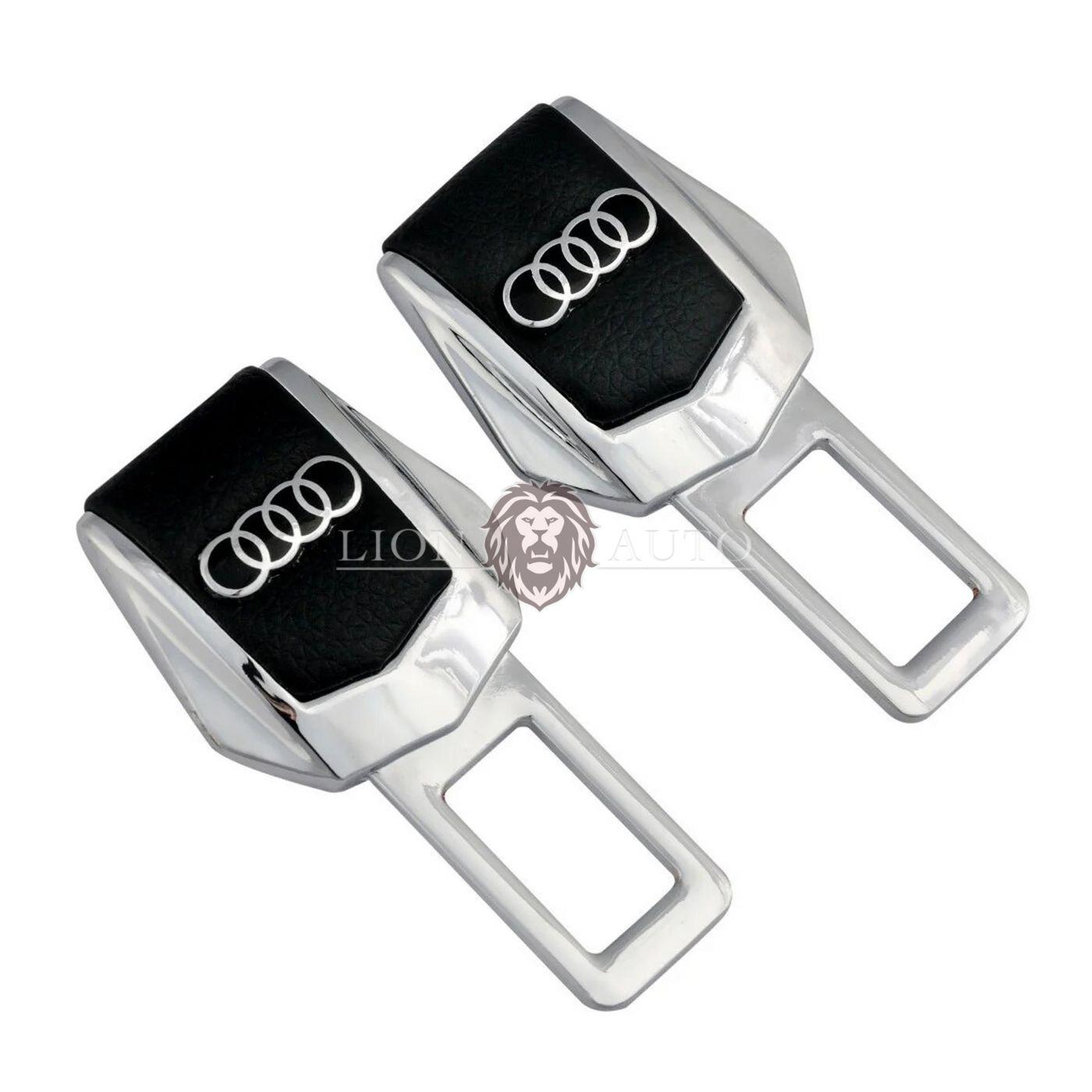 Заглушки ремня безопасности на Audi (набор)