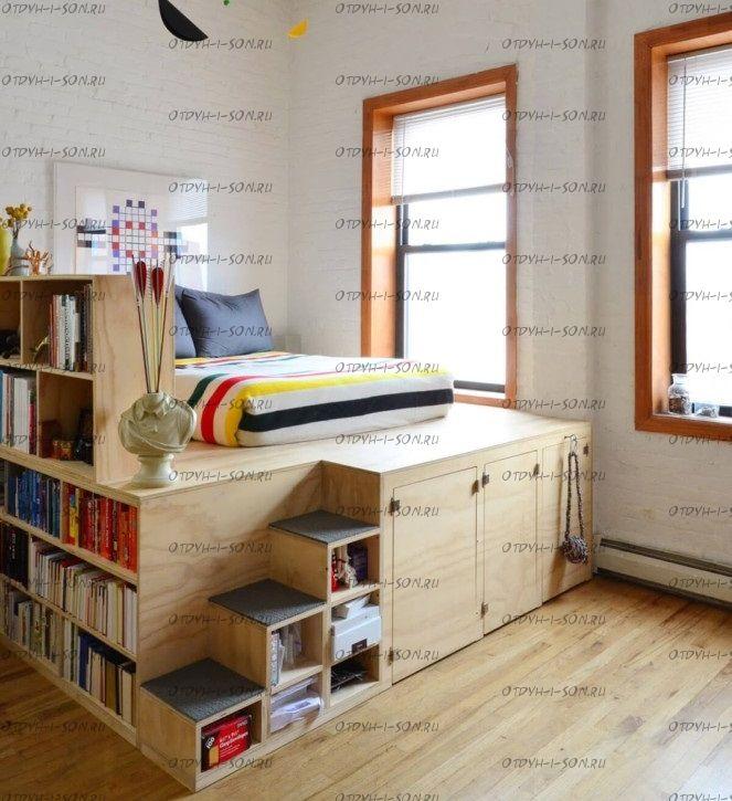 Кровать чердак Фокси №18
