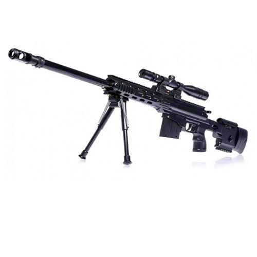 Детская пневматическая штурмовая снайперская винтовка с лазерным прицелом М.5899