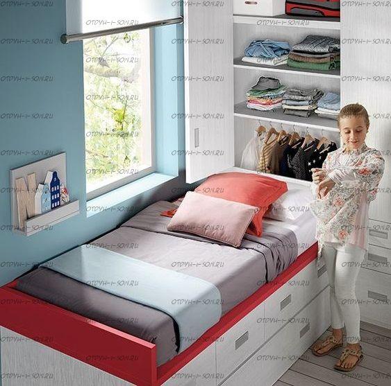 Кровать чердак Фокси №9