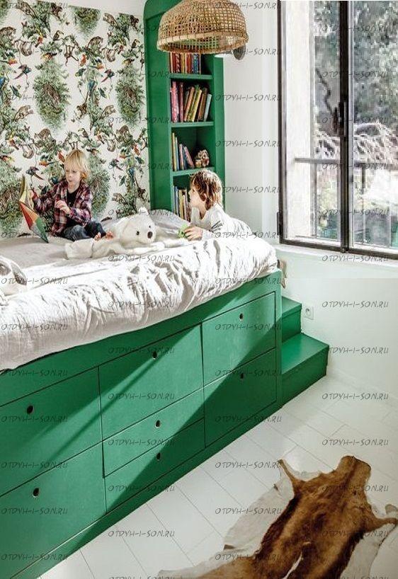 Кровать чердак Фокси №12