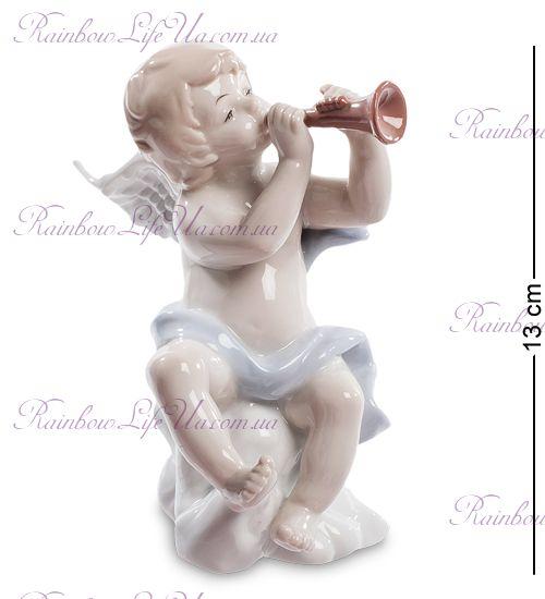"""Фигурка ангелочек трубач JP-16/ 5 """"Pavone"""""""