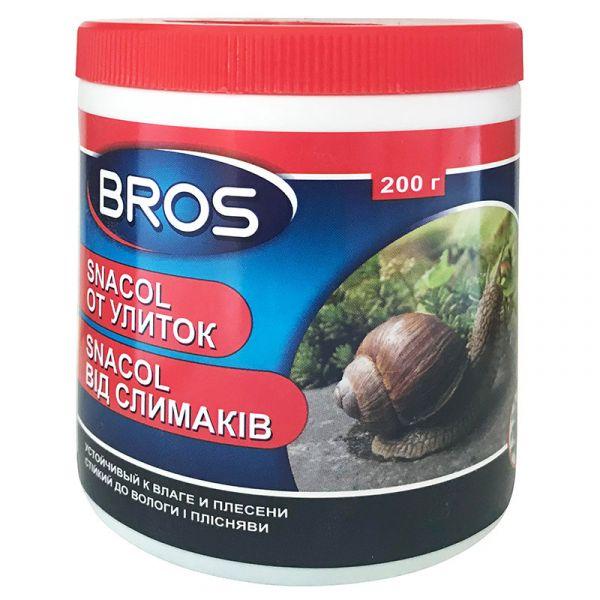 Средство от слизней Snacol (200 г) от BROS, Польша