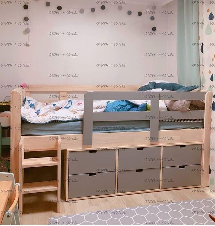 Кровать чердак Фокси №30