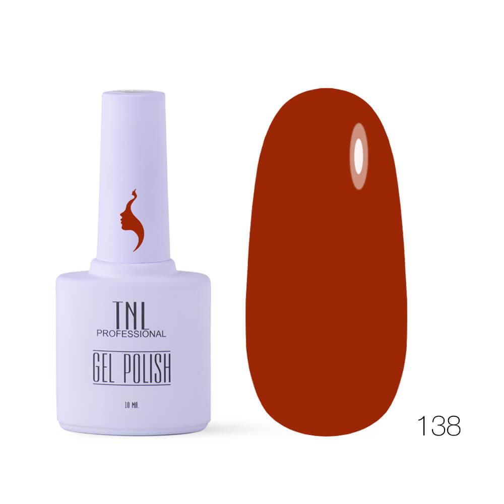 TNL гель-лак 8 чувств 138 красная охра, 10ml
