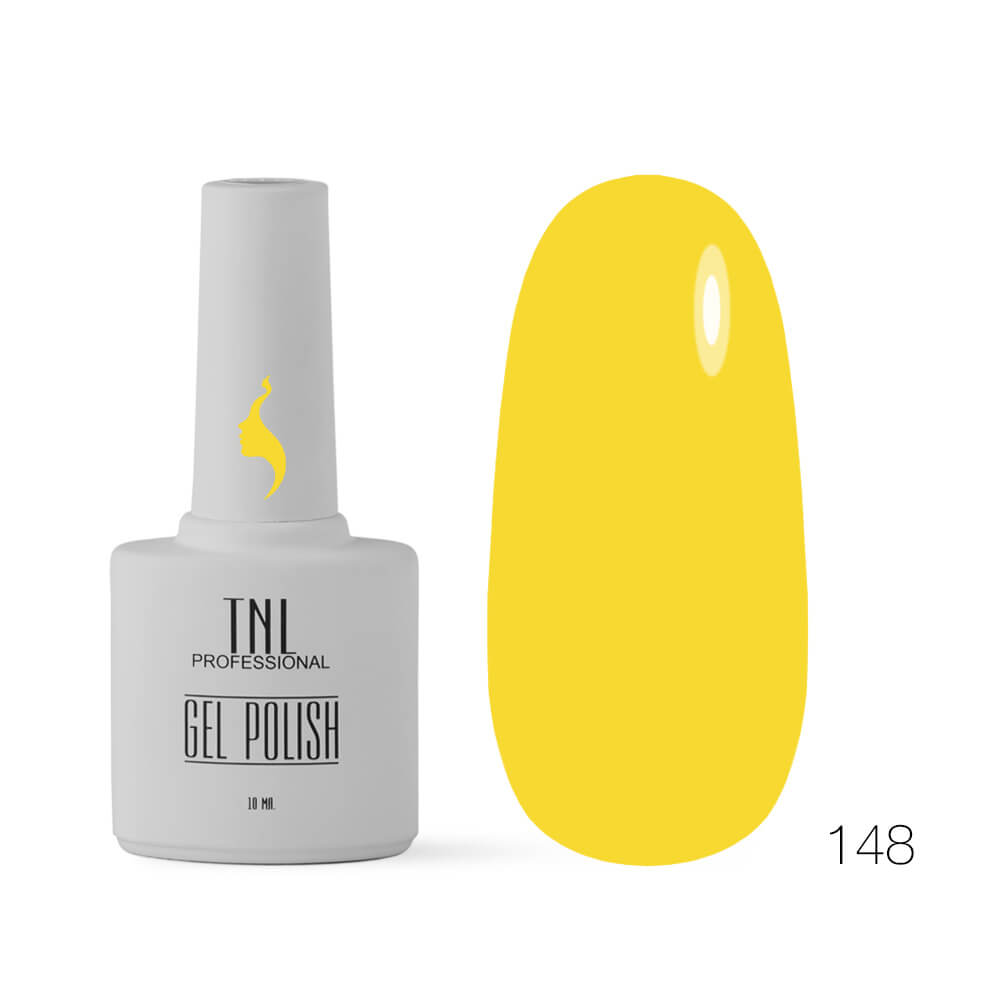 TNL гель-лак 8 чувств 148 лимонный , 10ml