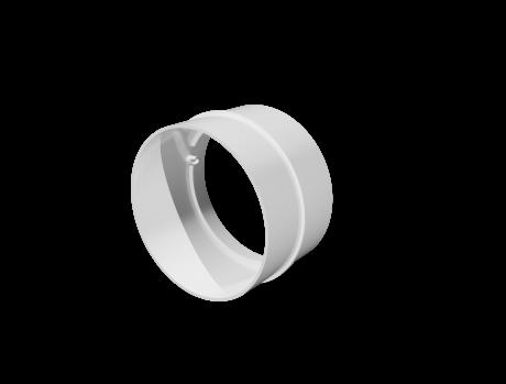 Соединитель пластик D100