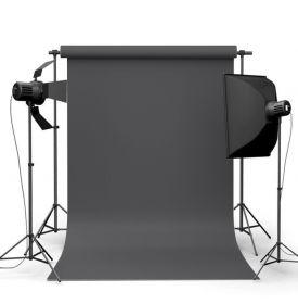 Фотофон виниловый Графитовый уголь ширина 1.5м