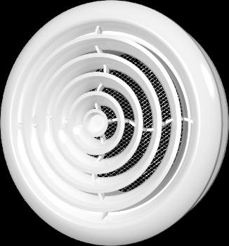 Диффузор со стопорным кольцом и фланцем D125