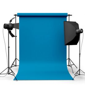 Фотофон виниловый Синий океан ширина 2-2.5м