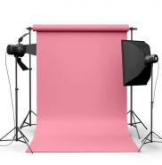 Фотофон виниловый Розовый ширина 1.5м