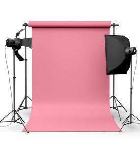 Фотофон виниловый Розовый ширина 3.2м