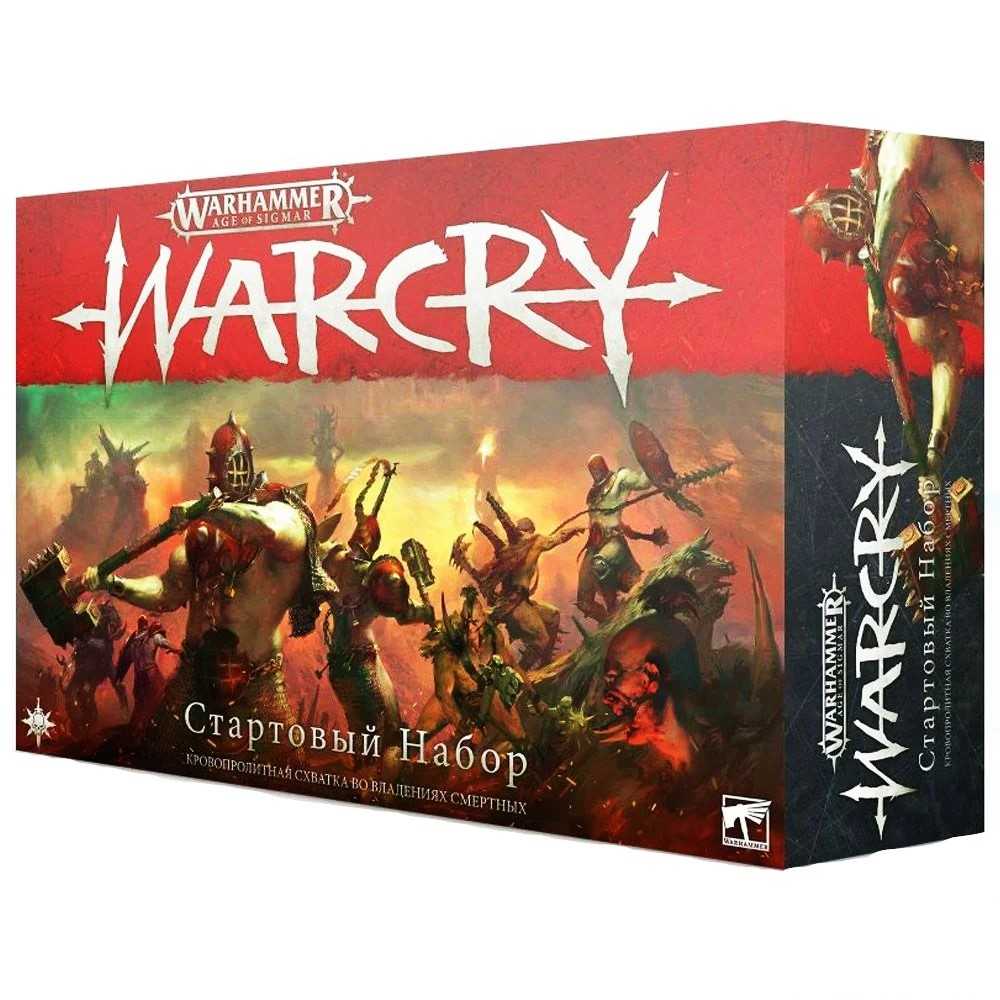 Warhammer: Age of Sigmar. WARCRY: Стартовый набор (на русском языке)