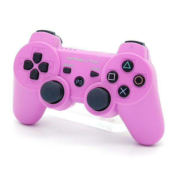 Геймпад PS3 б/п игровой Pink (розовый) OT-PCG02