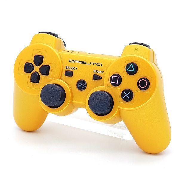 Геймпад PS3 б/п игровой Gold (золотой) OT-PCG02ВА