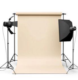 Фотофон виниловый Бежевый ширина 2-2.5м