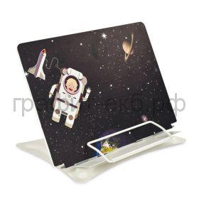 Подставка для книг Феникс+ Космонавт 6 углов наклона, регулировка высоты, металл 52570