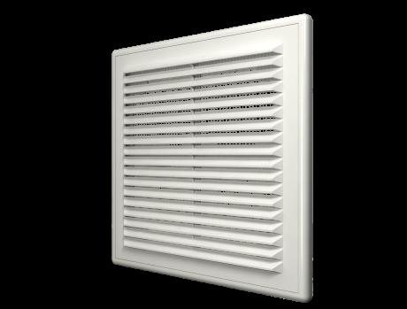 Решетка вентиляционная вытяжная АБС 150х150