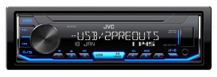 Автопроигрыватель JVC KD-X176