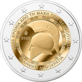 2500 лет сражению при Фермопилах 2 евро Греция 2020