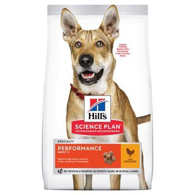 Корм сухой HILL's SP ADULT PERFORMANCE для взрослых собак всех пород с высокой активностью с курицей 12кг