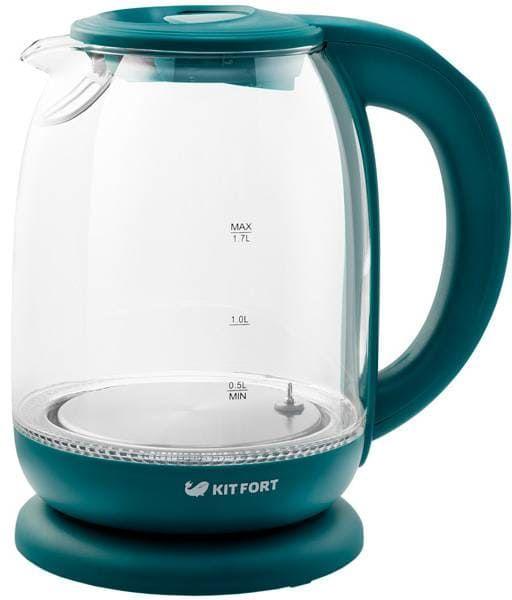 Чайник KitFort КТ-640-4 изумрудный