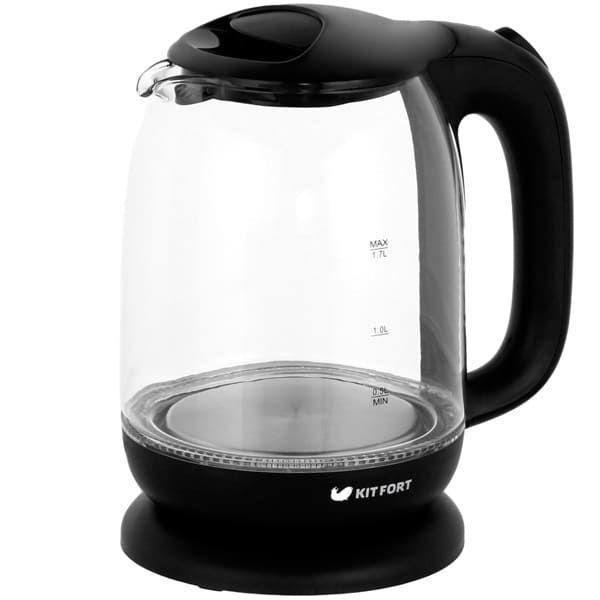 Чайник KitFort КТ-625-6 черный