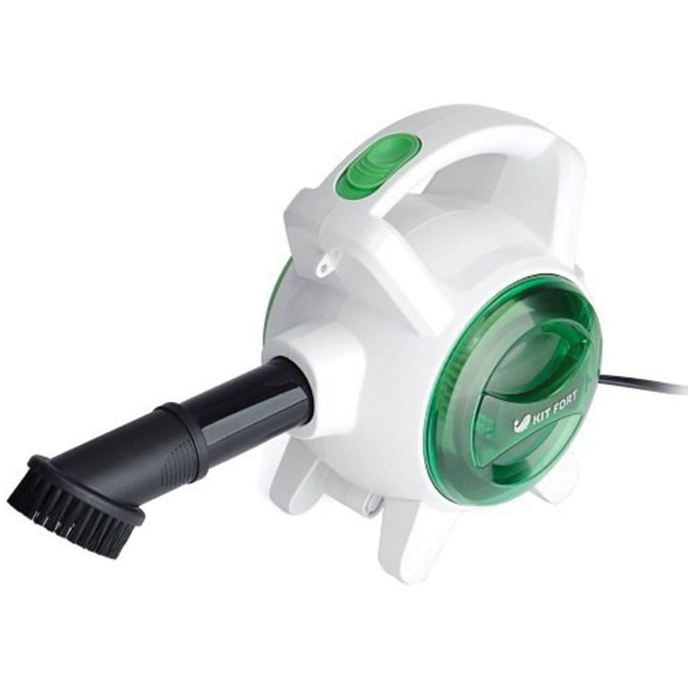 Ручной пылесос KitFort КТ-526-2 зеленый