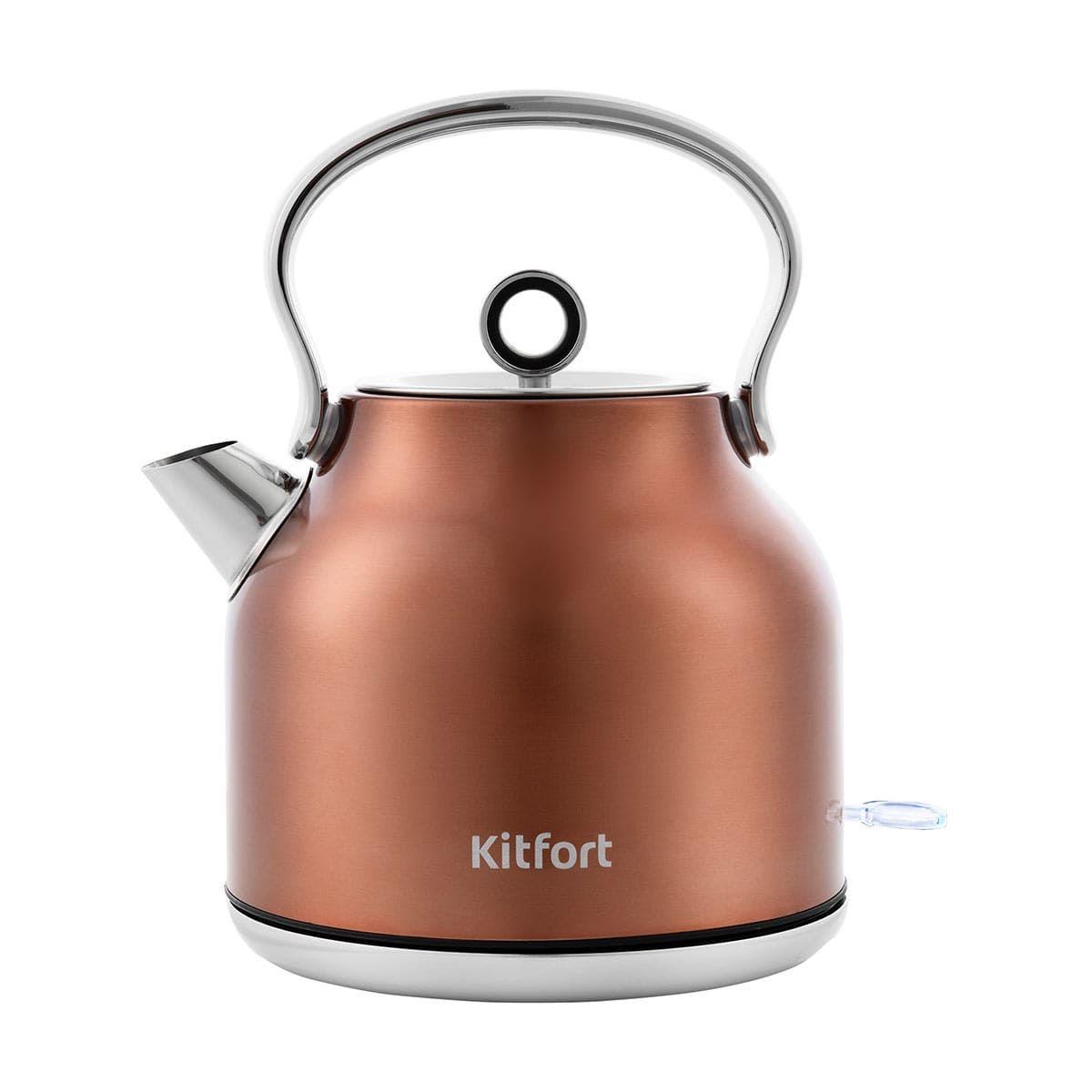 Чайник KitFort КТ-671-5 бронзовый