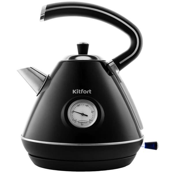 Чайник KitFort КТ-686-2 (черный)