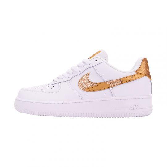 Кроссовки Nike Air Force 1 '07 Leather CR7 белые
