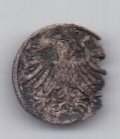 1 грош 1556 года Литва Польша