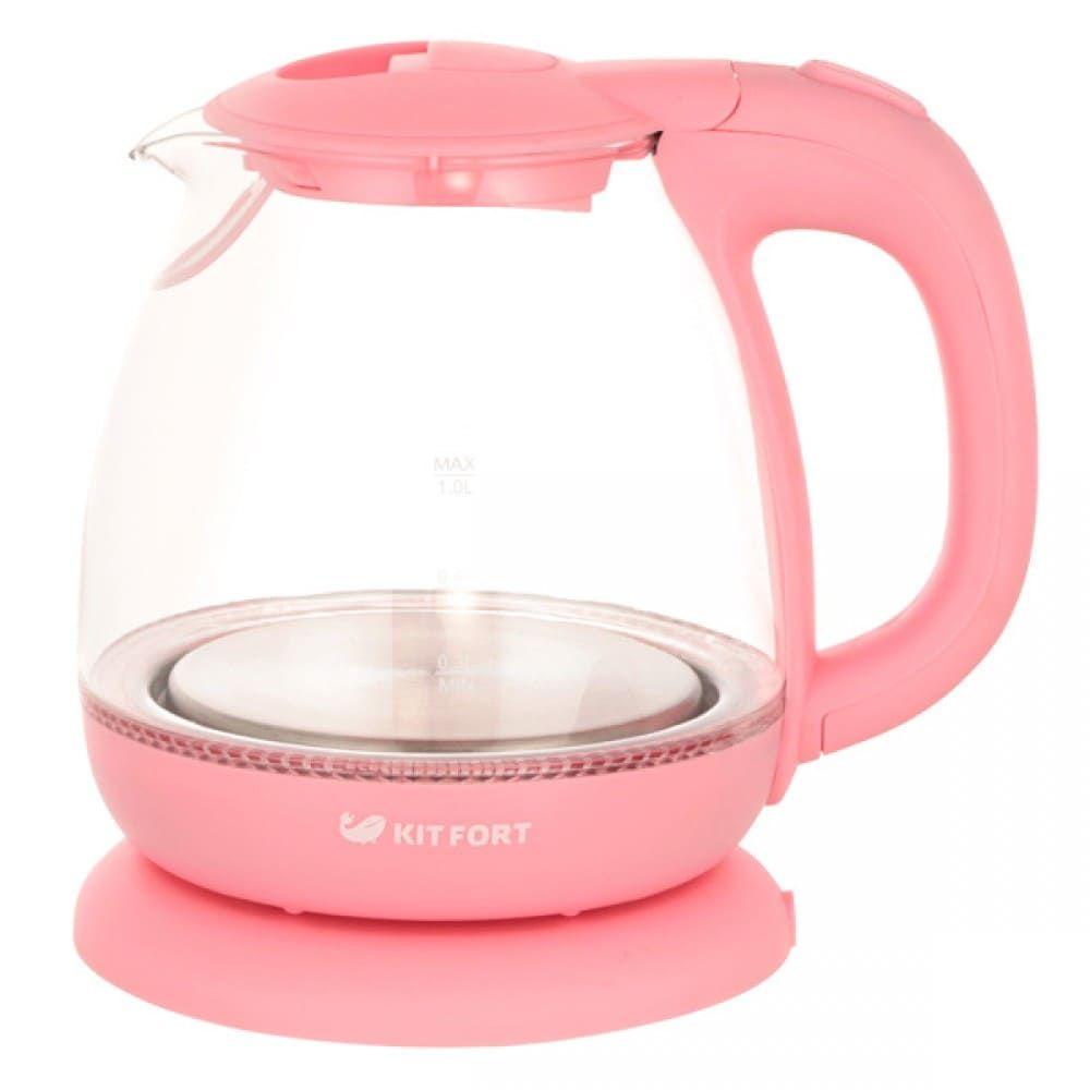 Чайник KitFort КТ-653-2 (розовый)
