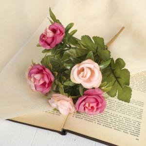 """Букет """"Розы дуо"""" 24 см, микс   3933286"""
