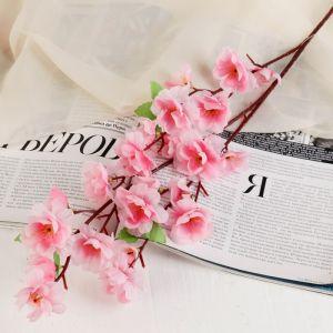 "Цветы искусственные ""Нежная сакура"" розовая"