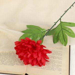 """Цветок искусственный """"Красный пион"""""""