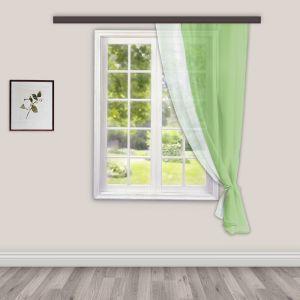 Штора для кухни Лаура 140х160 см, зеленый, пэ 100%   4050433