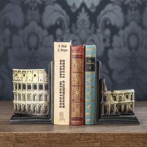 "Держатели для книг ""Колизей"" набор 2 штуки 17х11,8х8,8 см   3472984"