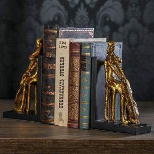 "Держатели для книг ""Контрабас"" набор 2 штуки 21,5х12,8х7 см   3472982"