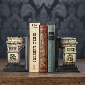 """Держатели для книг """"Триумфальная арка"""" набор 2 штуки 17х11,8х8,8 см   3472983"""