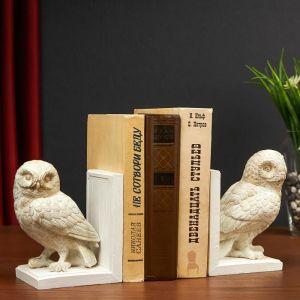 "Держатель для книг ""Полярная сова"" набор 2 шт, 23,5х9,5х16,5 см   4940410"