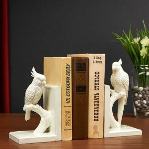 "Держатель для книг ""Попугайчики"" набор 2 шт, 23х9х21 см   4940411"