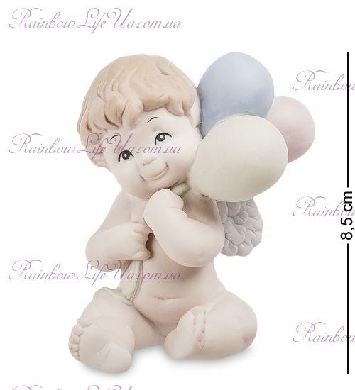 """Фигурка ангел с шариками JP-48/26 бисквит """"Pavone"""""""