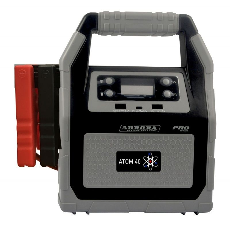 Профессиональное пусковое устройство нового поколения AURORA ATOM 40 (12/24В)
