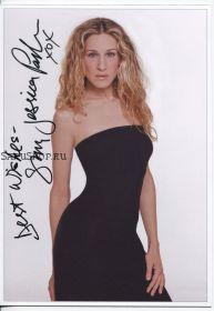 Автограф: Сара Джессика Паркер. Секс в большом городе