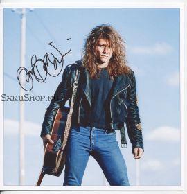 Автограф: Джон Бон Джови. Bon Jovi