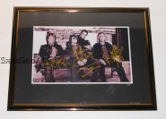 Автографы: Bon Jovi. Джон Бон Джови, Дэвид Брайан, Тико Торрес, Ричи Самбора