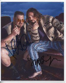 Автографы: Джефф Бриджес, Джон Гудман. Большой Лебовски
