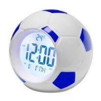 Настольные говорящие часы Футбольный мяч Atima AT-609TI, синий